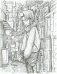 Kimiko in the Rain