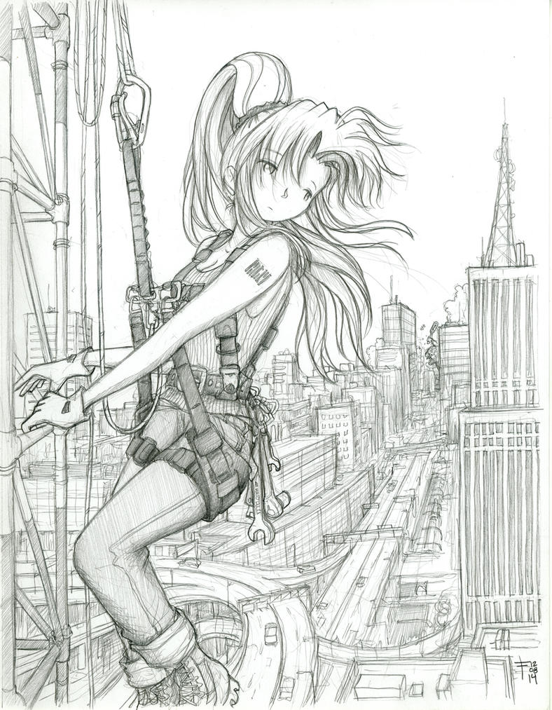 Erika - Towerclimb by fredrin