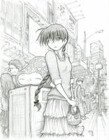 Asako - waiting by fredrin