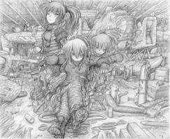 Save Point : Deep Water (pencil)