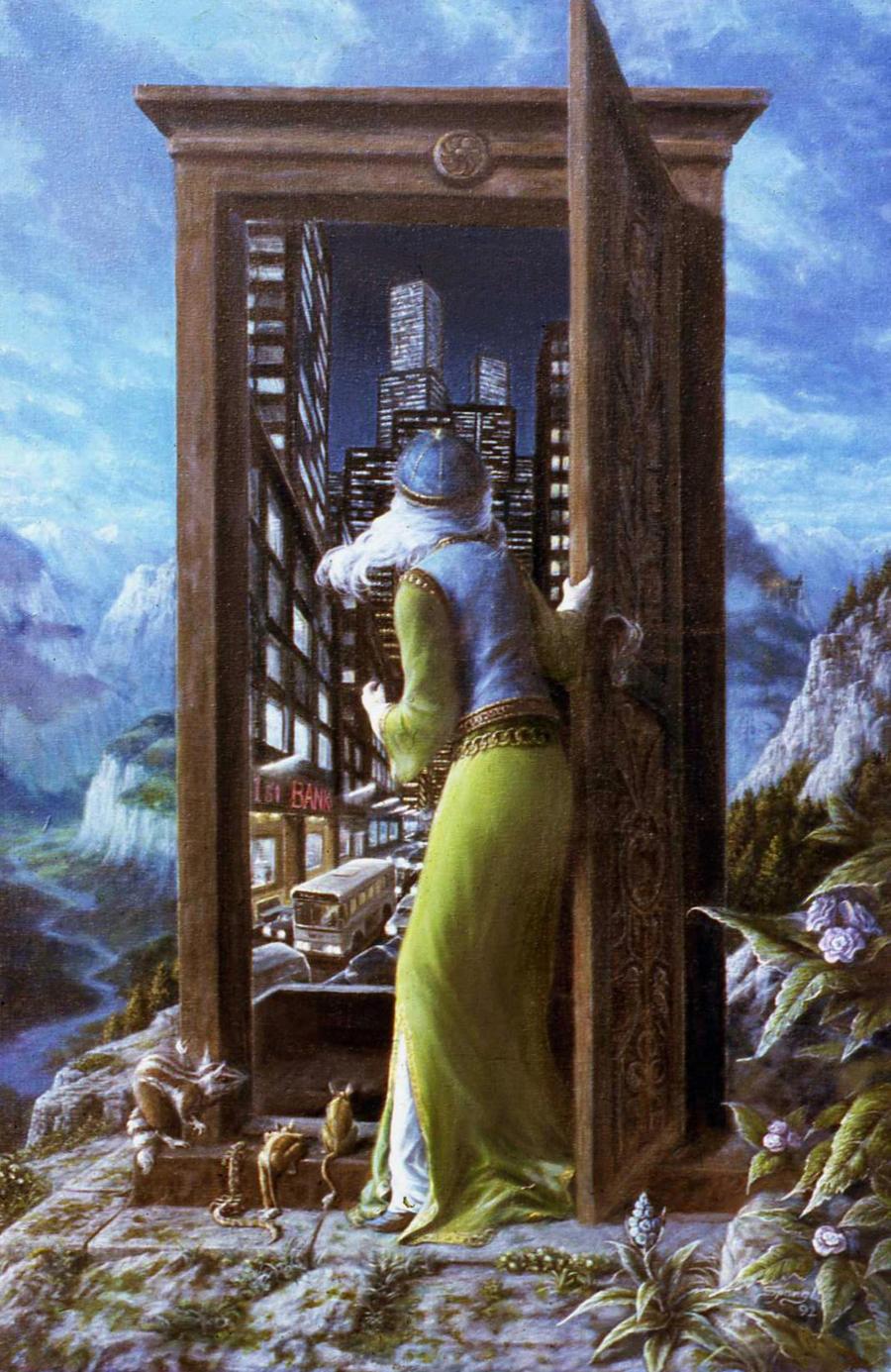 Iron Door by Keithspangle
