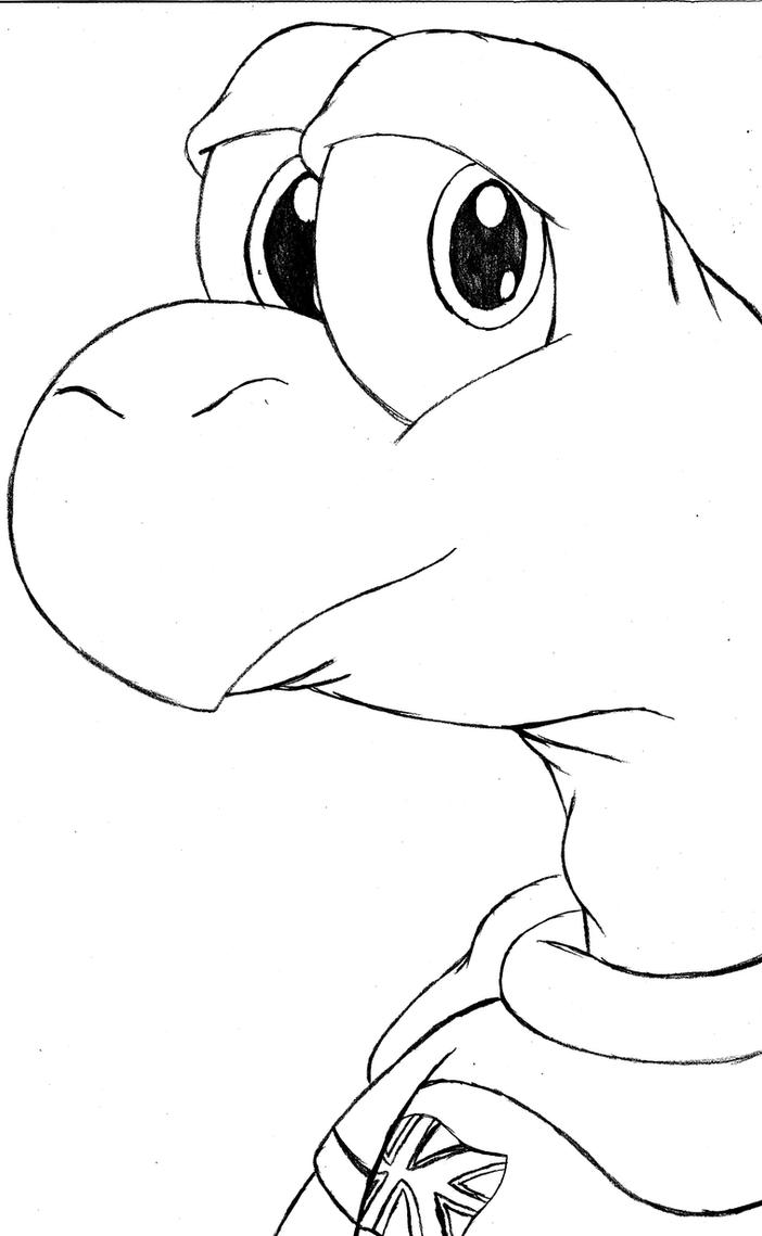 Pin Koopa Troopa Coloring Pages To Print On Pinterest