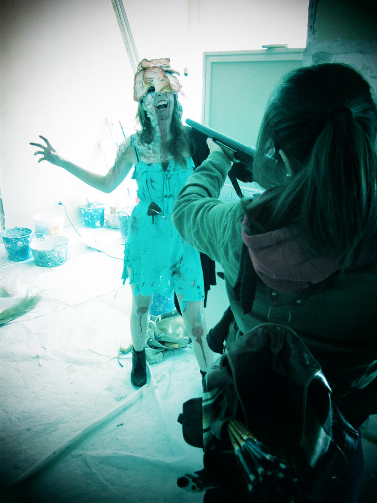 Clicker cosplay The Last of Us by Arisusandasu