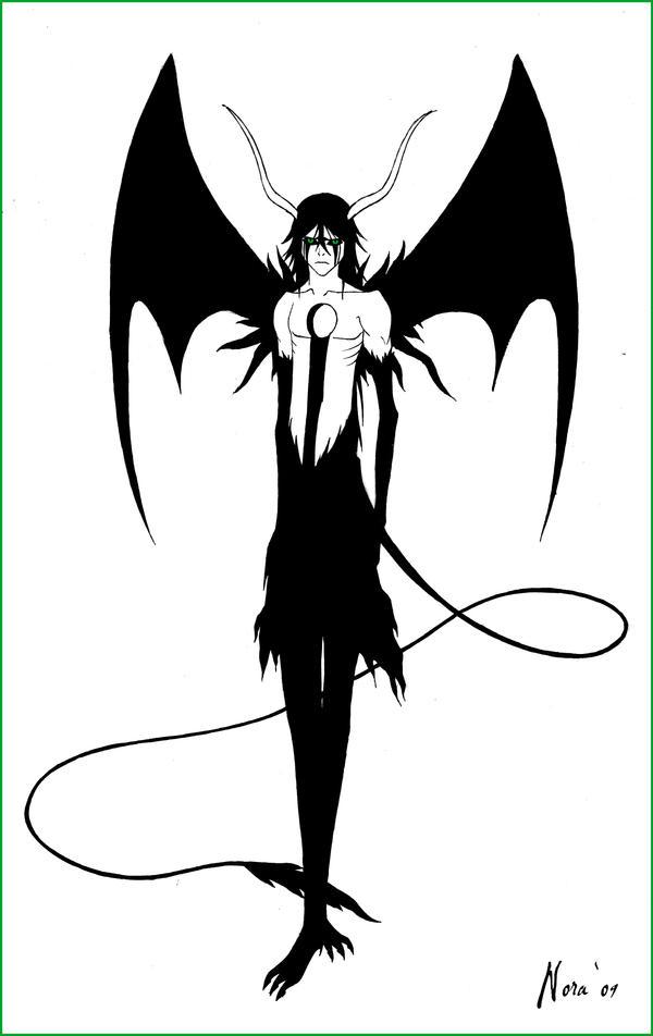 SPOILER:Ulquiorra final form by VampiressNora on DeviantArt