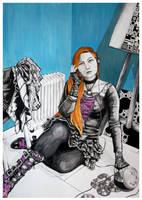 Self Portrait by NoraMarquez
