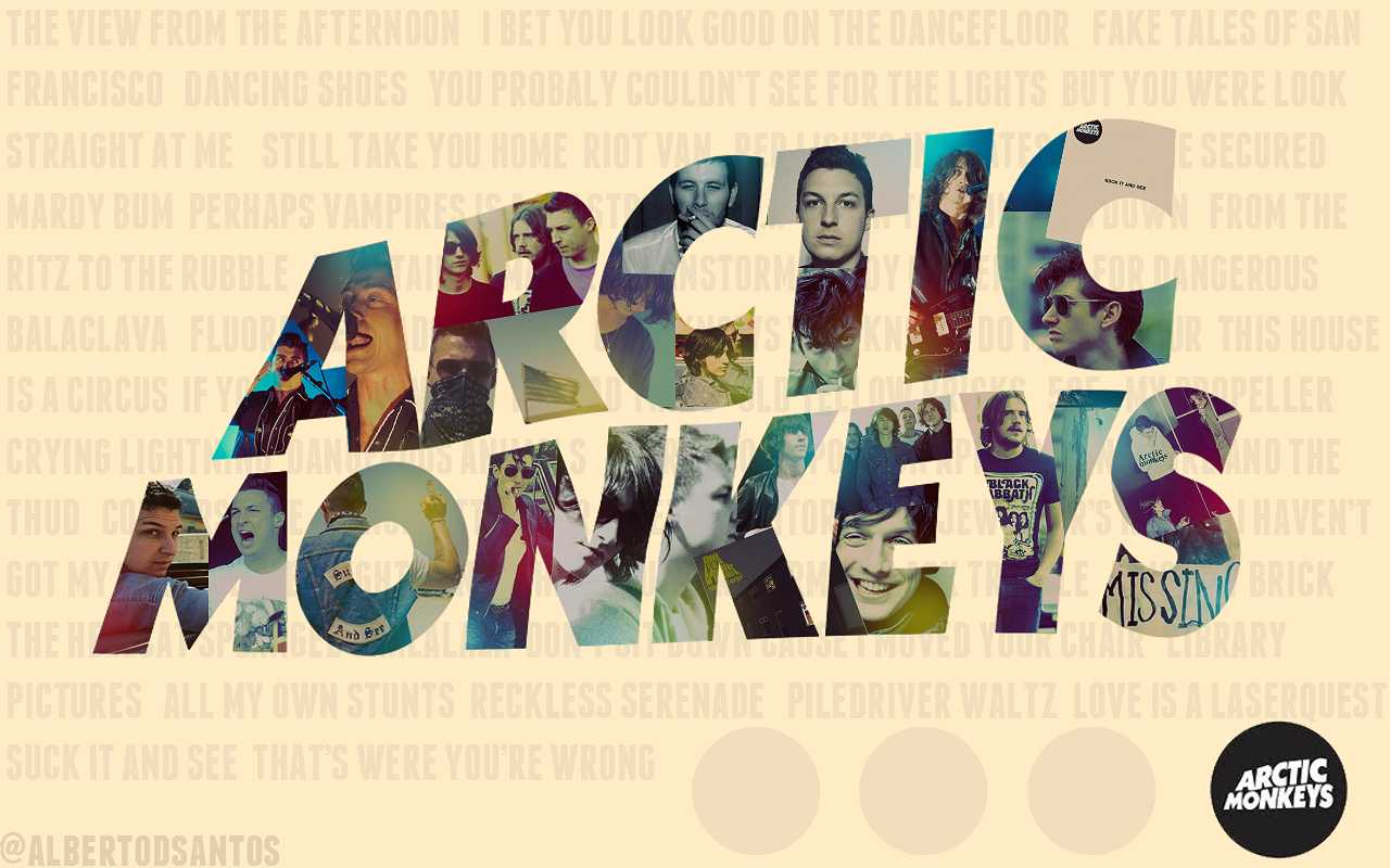 Arctic Monkeys Wallpaper by albertodsantos