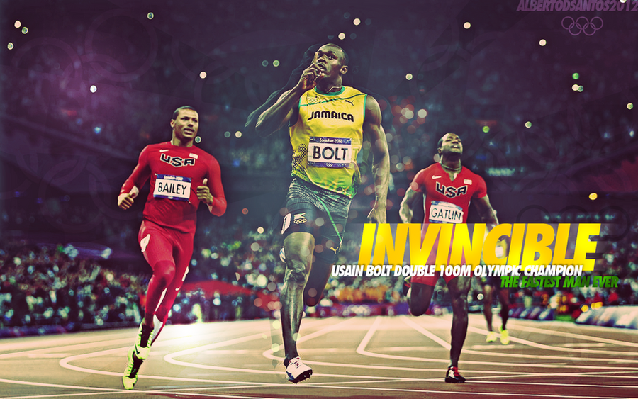 Usain Bolt London 2012 Wallpaper By Albertodsantos On