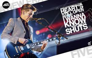 Arctic Monkeys Five Wallpaper by albertodsantos