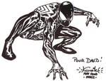 Spider-Man Paris con sketch
