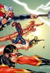 Marvel Rebels - Josh colors