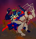 Spidey vs Venom vs Anti-Venom