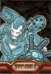Iron Man 2 sketchcard 8