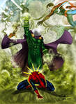 Mysterio vs Spidey - Alxelder