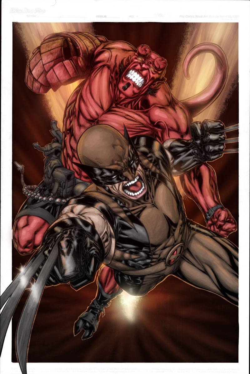 Hellboy-Wolverine - Niggaz4lif