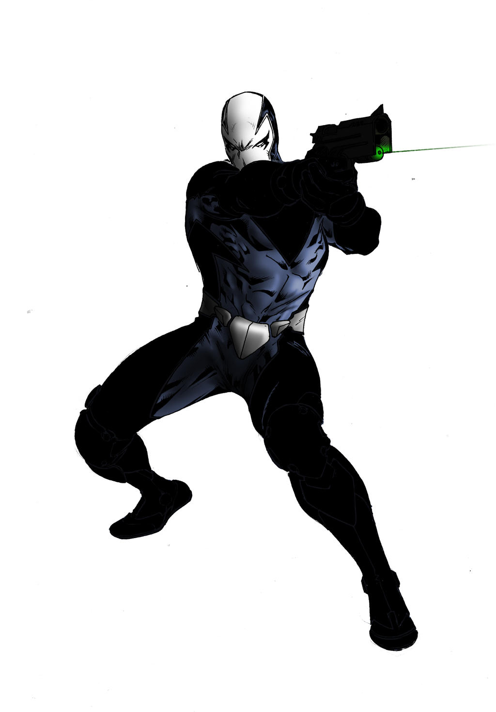 Sharp shooting - DarkNinjaDev by SpiderGuile