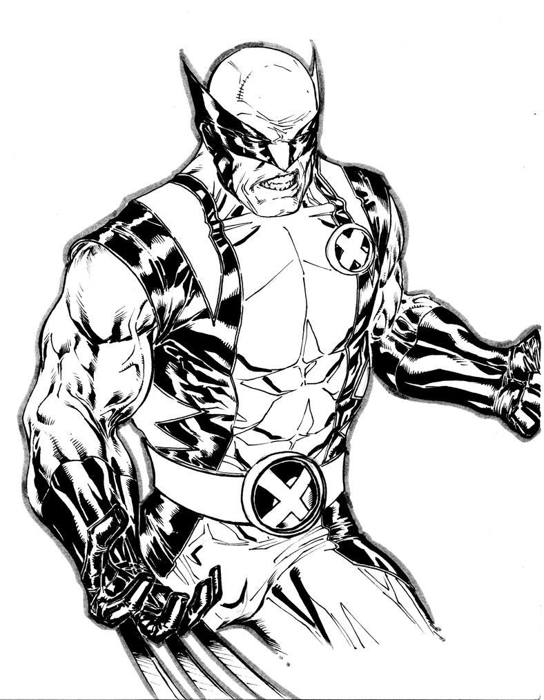 Wolverine 2010 sketchbook by spiderguile on deviantart for Coloring pages wolverine