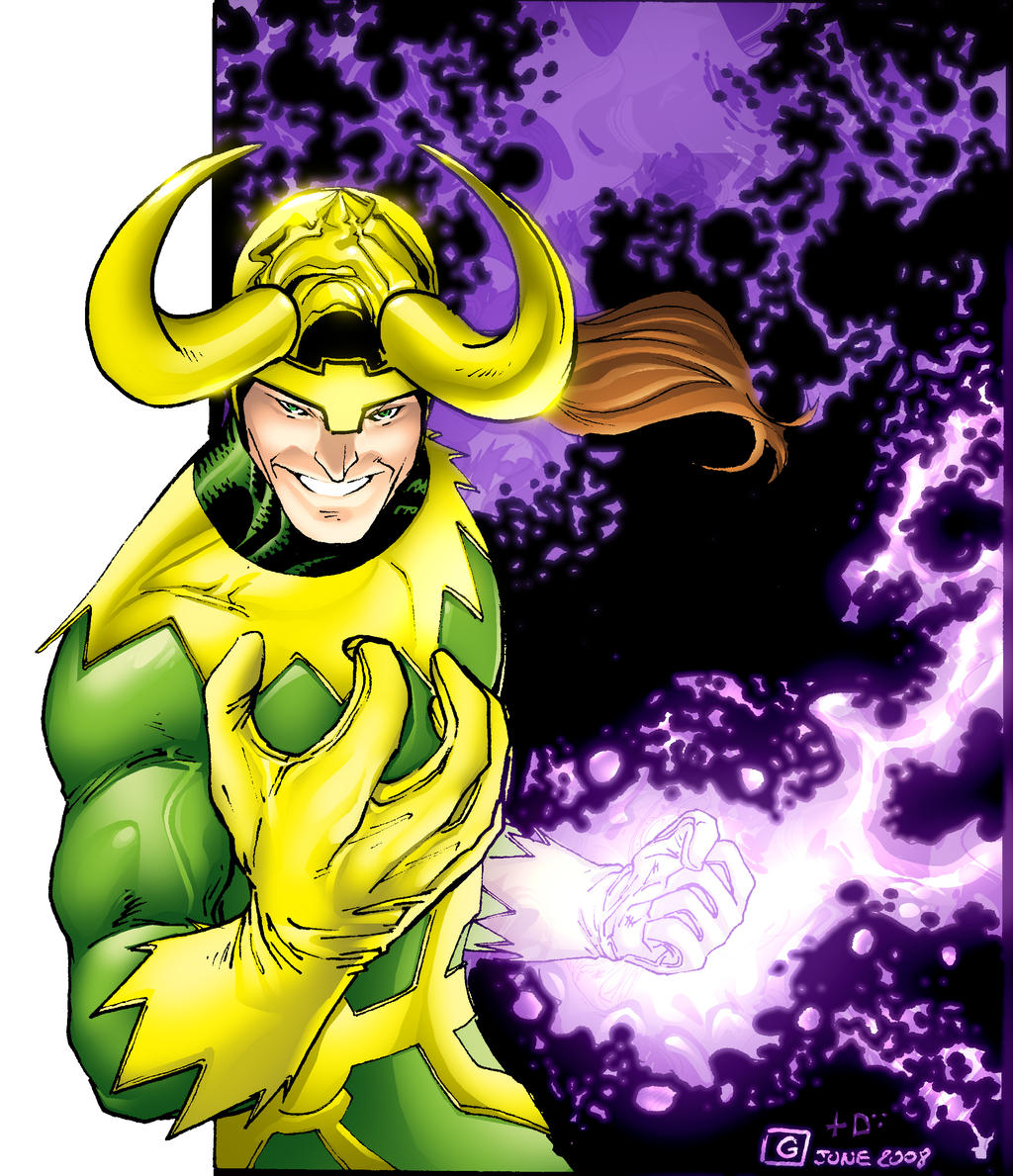 Loki - Dan Kemp colors by SpiderGuile