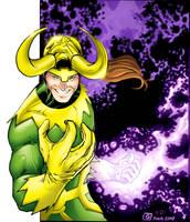 Loki - Dan Kemp colors by SpiderGuile