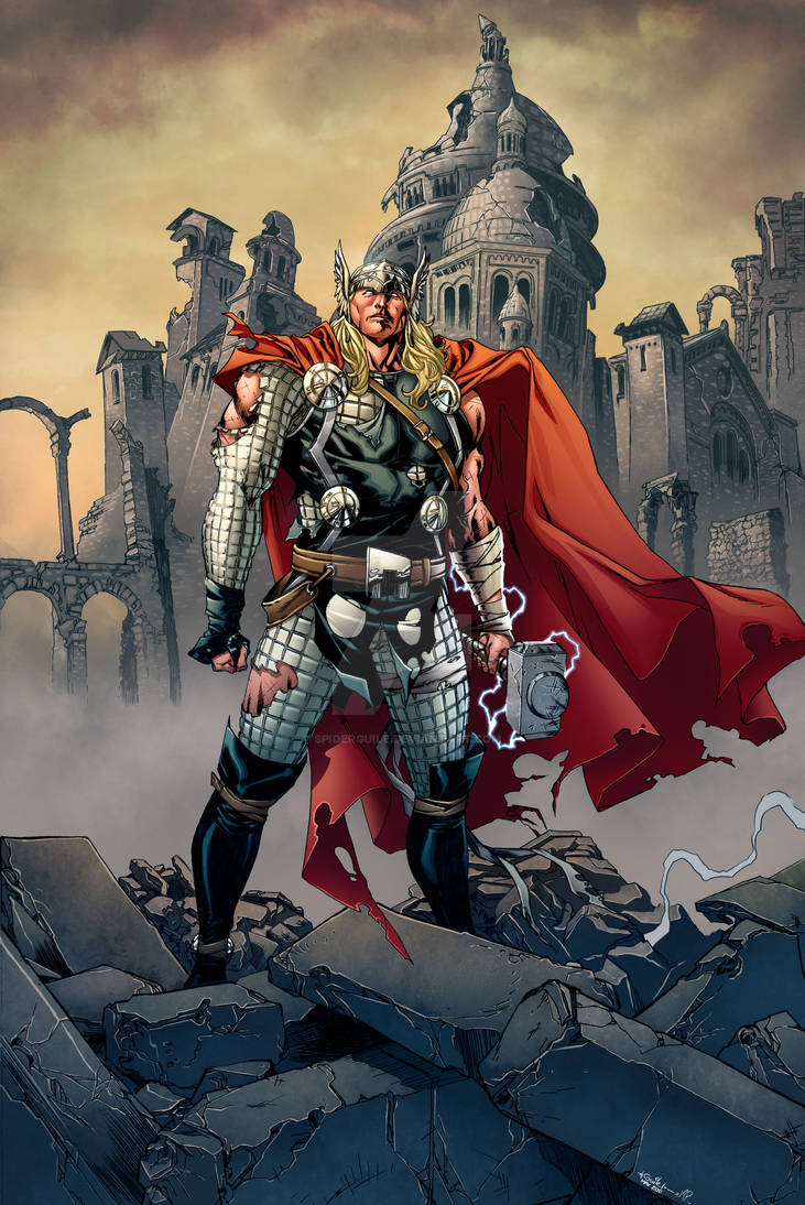 Thor - Mark h. Roberts colors
