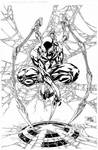 Iron Spider-Man commission