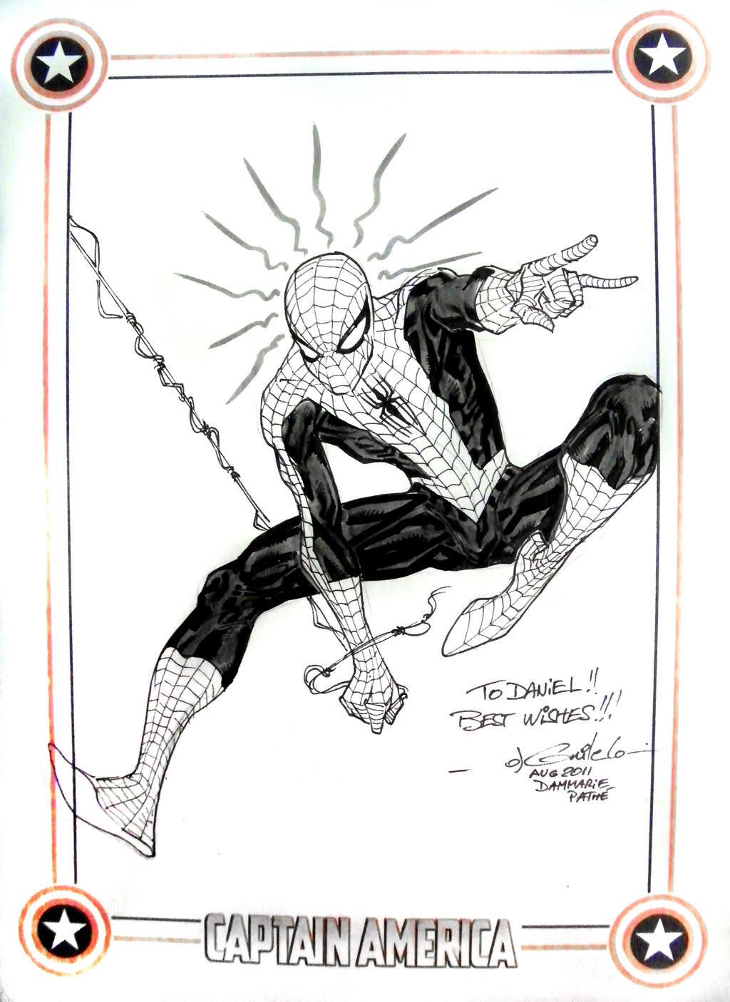 DnD Paris Spider-Man sketch by SpiderGuile