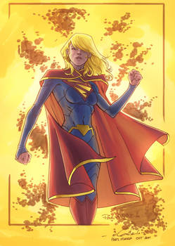 Supergirl - Niggaz4Life colors