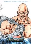 Avengers sketchcards - Absorbing Man