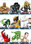 Avengers sketchcards set 3