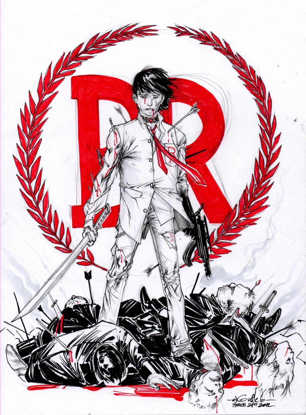 Battle Royale - Drink'n'Draw (March 21st 2012)