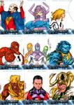Avengers sketchcards set 4