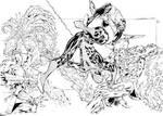 Spider-Man Thursday 35 - Luis Puig inks
