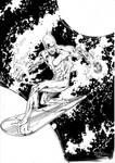 Silver Surfer - Drink'n'Draw May 16th 2012