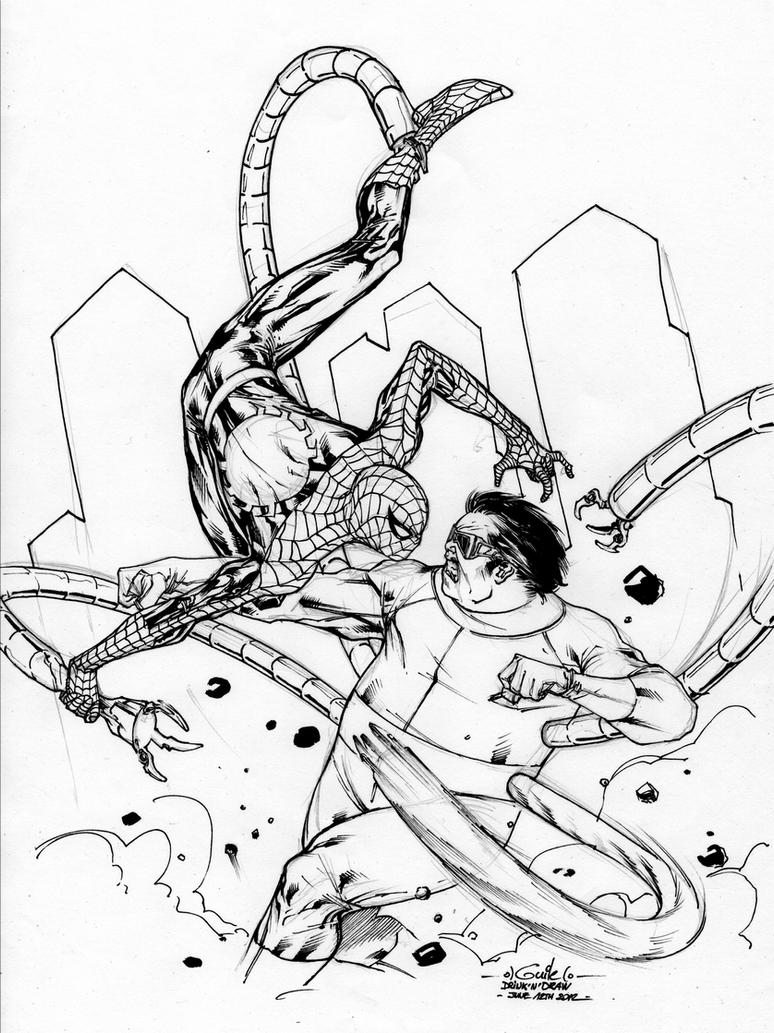 Spider-Man Universe - Drink'n'Draw June 13th 2012 by SpiderGuile