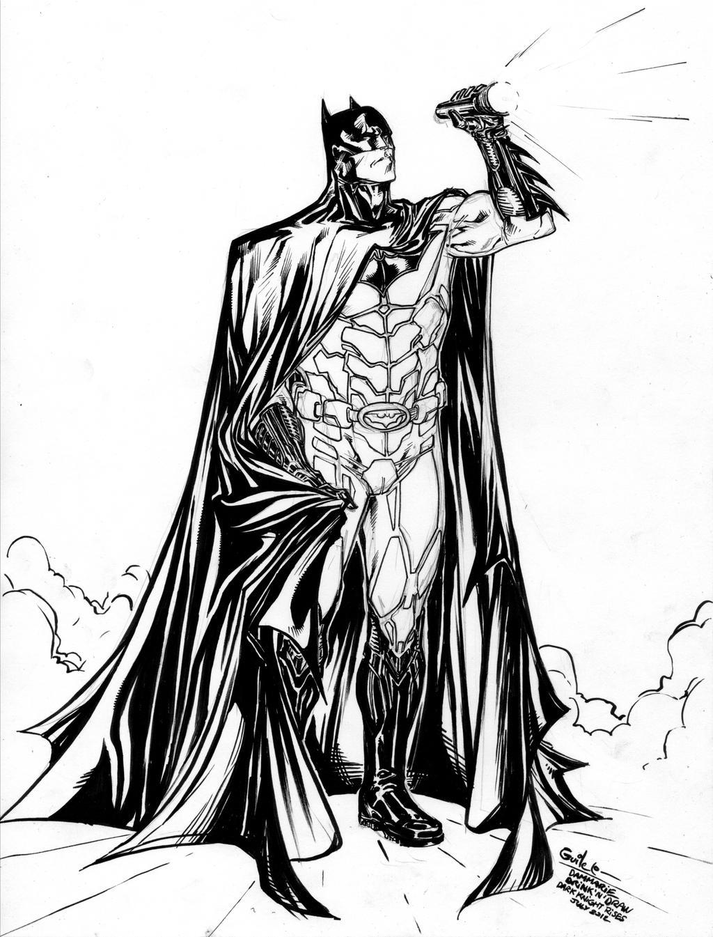 Batman - Dark Detective Rises by SpiderGuile
