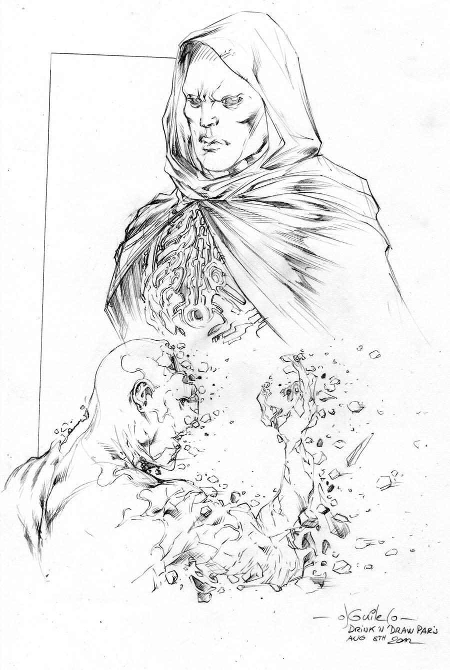 How to draw Prometheus