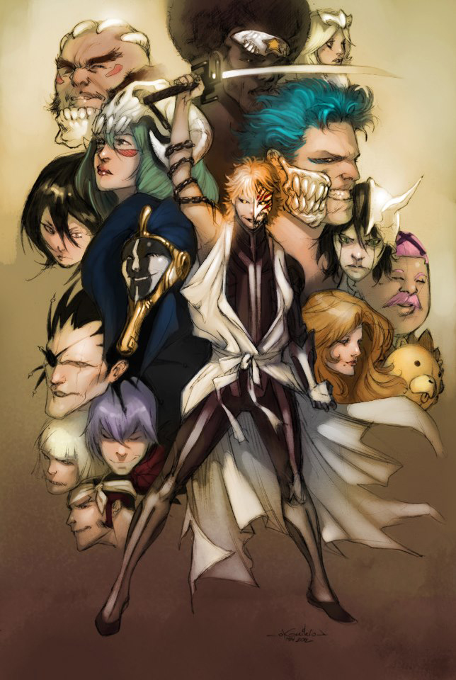 BLEACH - Kelly Perry colors by SpiderGuile