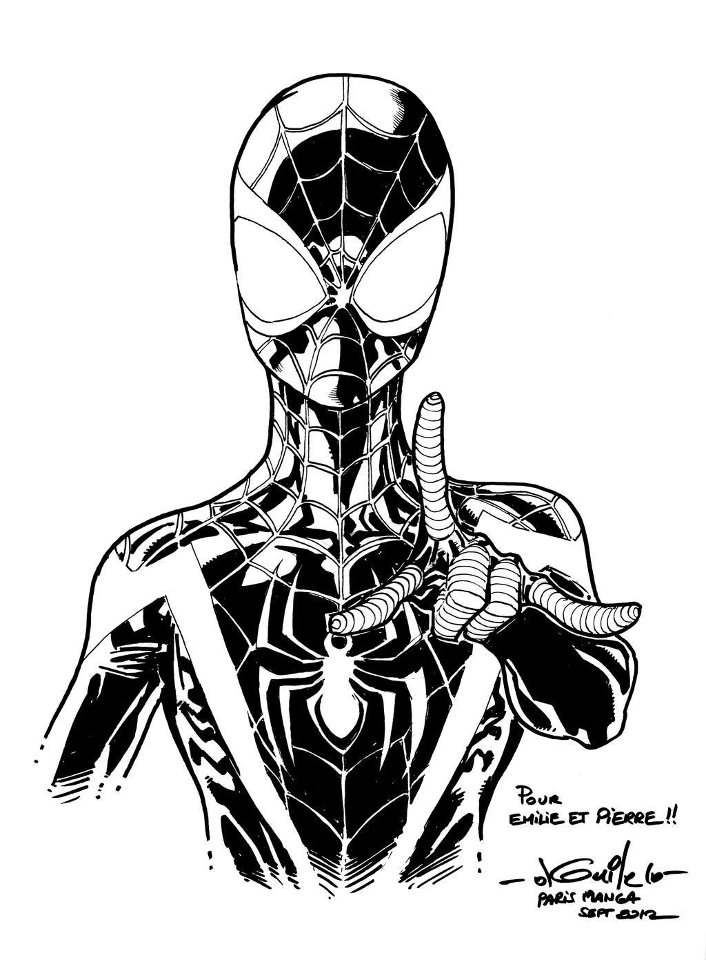 spiderman coloring pages miles morales | Miles Morales Spider Man Coloring Pages Sketch Coloring Page