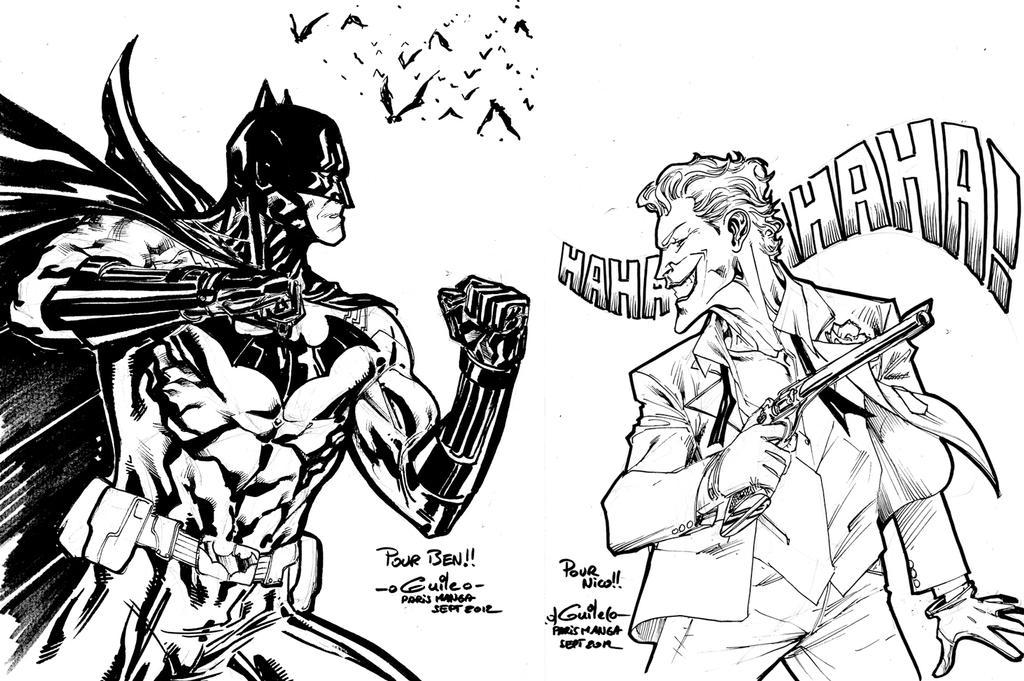 Batman Vs Joker Coloring Pages Coloring Pages