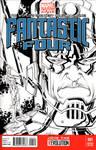 Fantastic Four #1 (Galactus sketch)