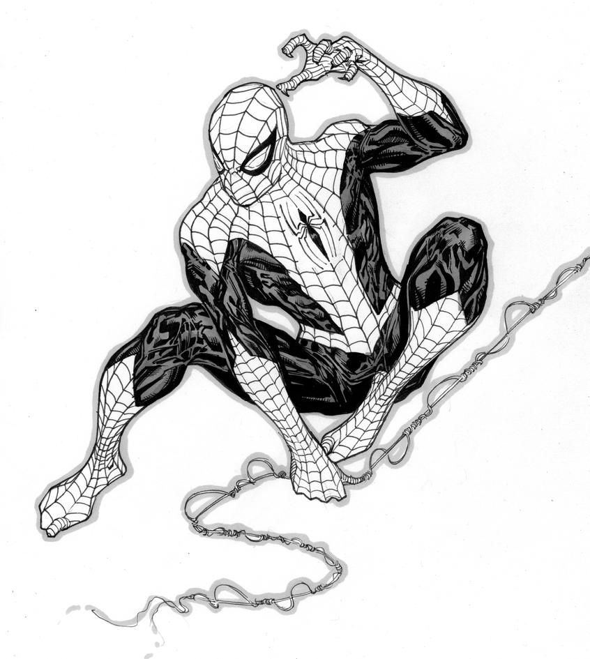 Superior Spider-Man Sketch - Lille Comics Festival By SpiderGuile On DeviantArt
