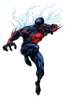 Spider-Man 2099 - Lummage colors