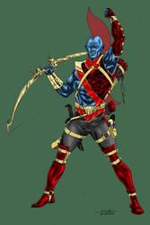 Yondu - turbosuo colors by SpiderGuile
