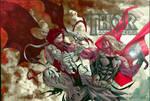 Thor vs Gorr - Thor, God of Thunder #1 - Biram Ba
