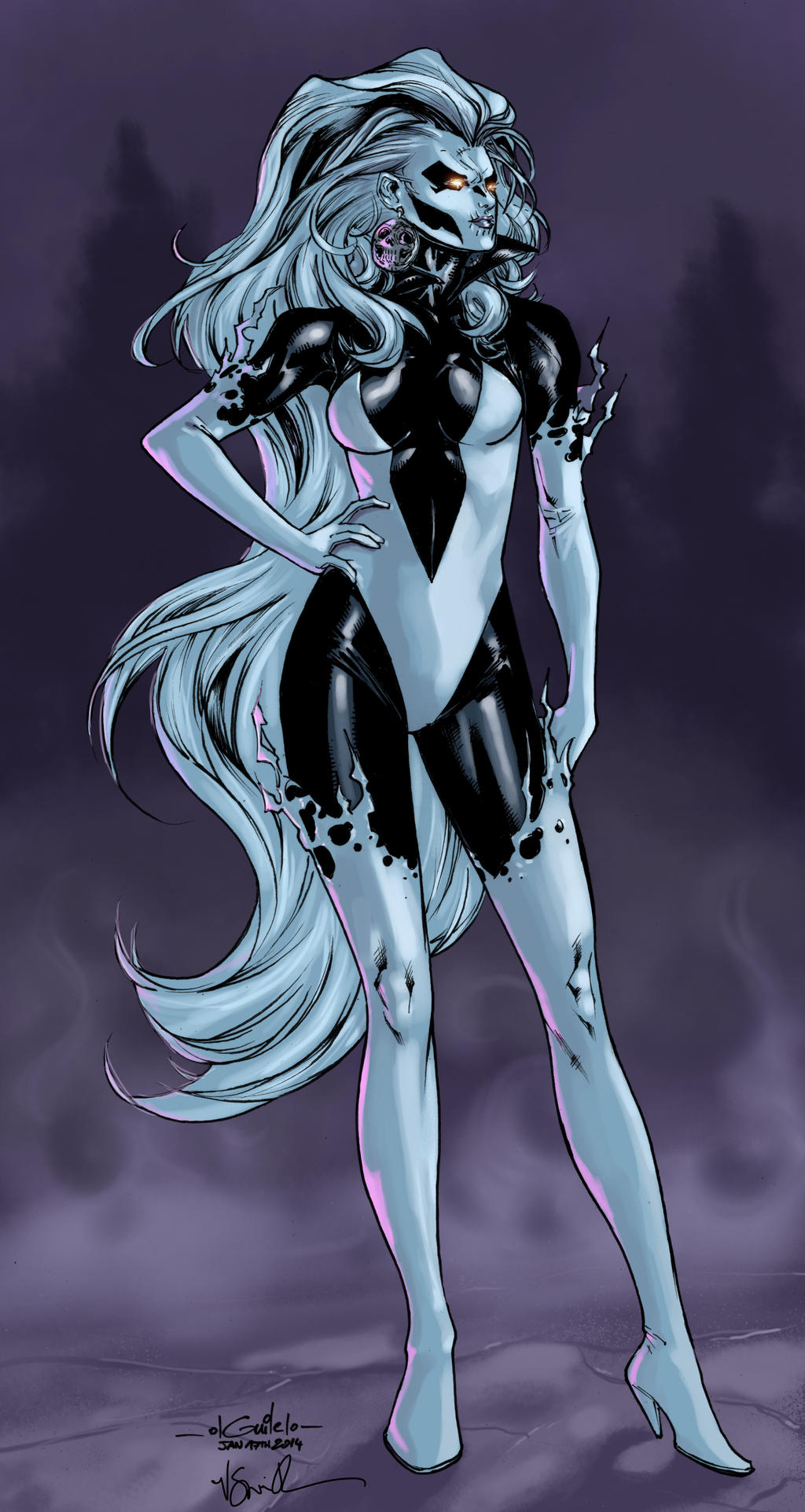 Silver Banshee - Roni Smith colors by SpiderGuile