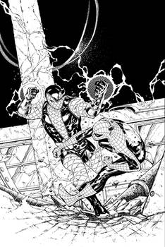 Spider-Man Thursday 13 - John Livesay inks