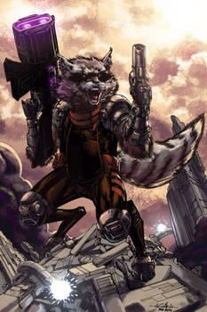 Rocket Raccoon - Biram Ba colors