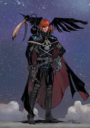 Captain Harlock - Fabian Cobos colors by SpiderGuile
