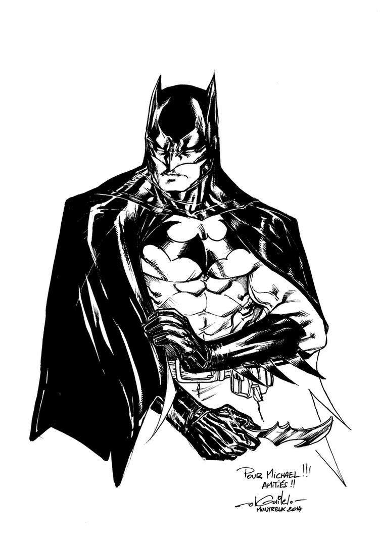 Batman - Polymanga 2014 by SpiderGuile