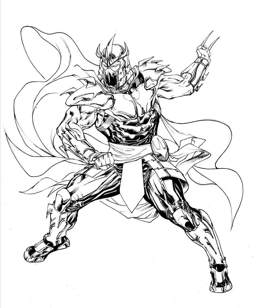 shredder coloring pages - photo#6