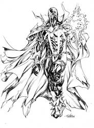 Spawn - aug5th2014 by SpiderGuile